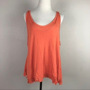 Free People Karmen Coral Tank Top